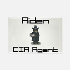 Aiden - CIA Agent Rectangle Magnet