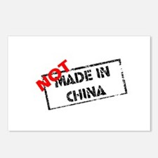 NOT MADE IN CHINA Postcards (Package of 8)