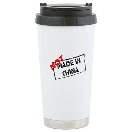 NOT MADE IN CHINA Stainless Steel Travel Mug