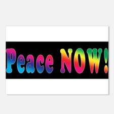 PEACE NOW!  Postcards (Package of 8)