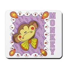 Mort the Monkey Mousepad
