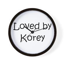 Unique Korey Wall Clock