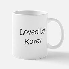 Cute Korey Mug