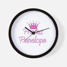 Princess Penelope Wall Clock