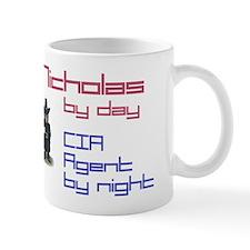 Nicholas - CIA Agent by Night Mug