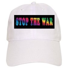 Stop the WAR! Baseball Baseball Cap