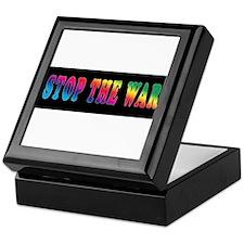Stop the WAR! Keepsake Box