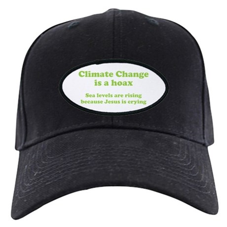 Climate Change is a hoax GREEN Black Cap