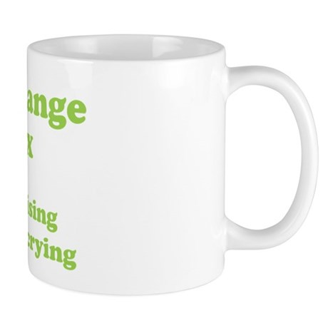Climate Change is a hoax GREEN Mug