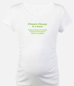 Climate Change is a hoax - EXPLOSION Shirt