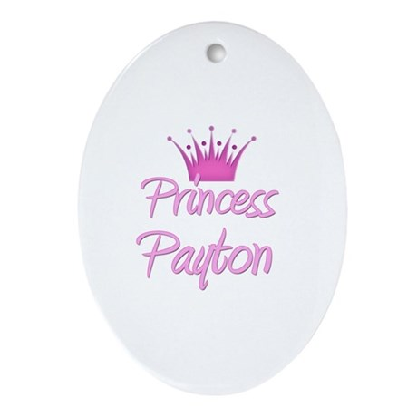 Princess Payton Oval Ornament