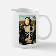 Mona Lisa's Menorah Mug