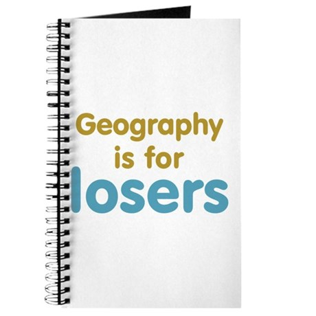 Geography is for Losers Journal