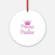 Princess Paulina Ornament (Round)