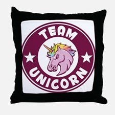 Cute Unicorn Throw Pillow
