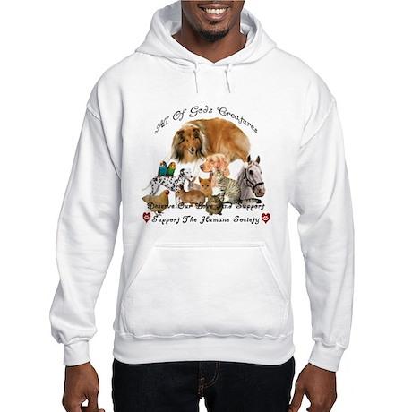 Humane Society Animal Support Hooded Sweatshirt