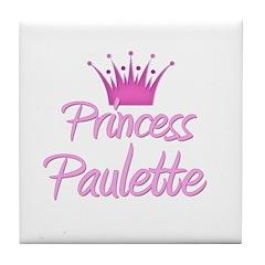 Princess Paulette Tile Coaster