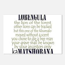 Lobengula kaMatshobana Postcards (Package of 8)