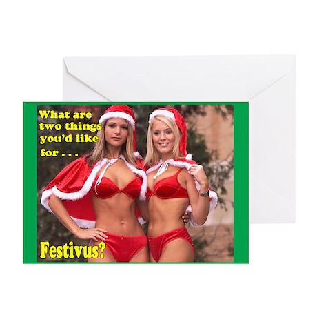 Adult Festivus Cards (Pk of 10)