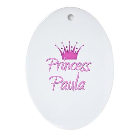 Princess Paula Oval Ornament