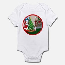 Deck The Halls Sheltie Infant Bodysuit
