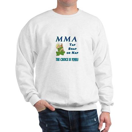MMA Teddy Bear Sweatshirt
