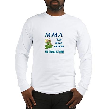 MMA Teddy Bear Long Sleeve T-Shirt