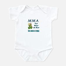 MMA Teddy Bear Infant Bodysuit