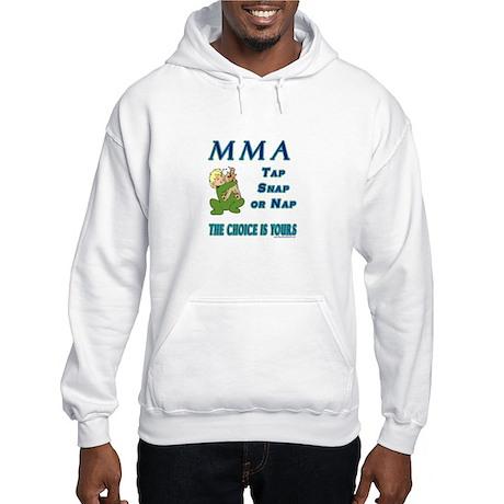MMA Teddy Bear Hooded Sweatshirt