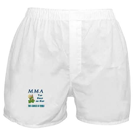 MMA Teddy Bear Boxer Shorts