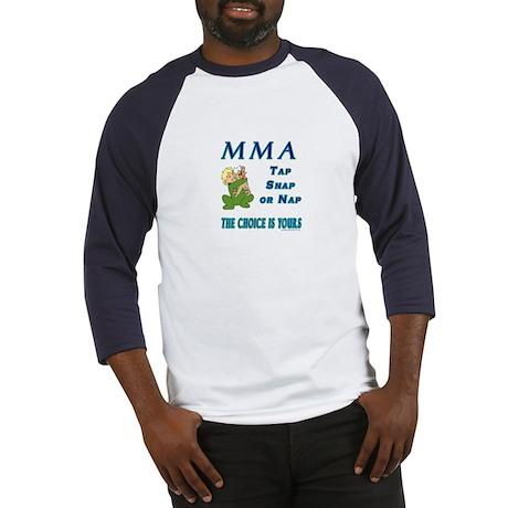 MMA Teddy Bear Baseball Jersey