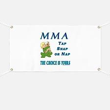 MMA Teddy Bear Banner