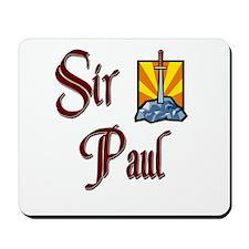 Sir Paul Mousepad