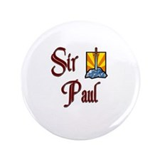 "Sir Paul 3.5"" Button"