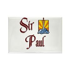 Sir Paul Rectangle Magnet
