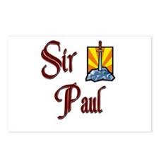 Sir Paul Postcards (Package of 8)