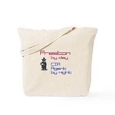 Preston - CIA Agent by Night Tote Bag