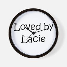 Cute Lacie Wall Clock