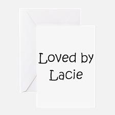 Cute Lacie Greeting Card