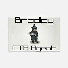 Bradley - CIA Agent Rectangle Magnet
