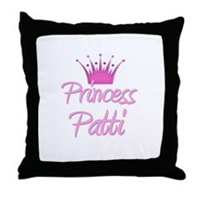 Princess Patti Throw Pillow