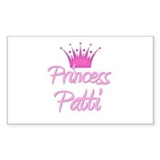 Princess Patti Rectangle Decal