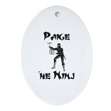 Paige - The Ninja Oval Ornament