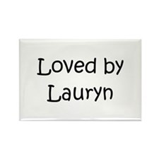 Cute Lauryn Rectangle Magnet