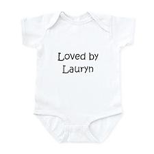 Cute Lauryn Onesie