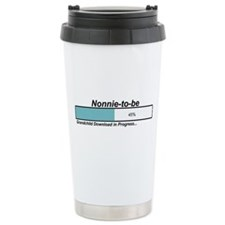 Download Nonnie to Be Travel Coffee Mug