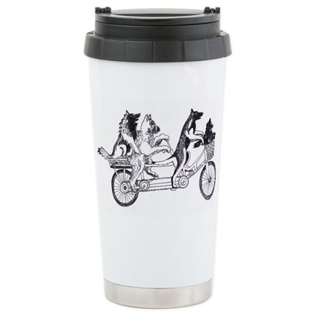 Belgian Stainless Steel Travel Mug