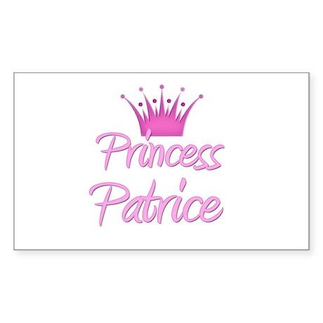 Princess Patrice Rectangle Sticker