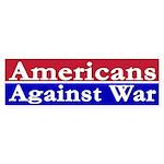 Americans Against War (bumper sticker)