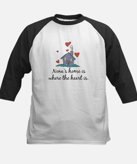 Nona's Home is Where the Heart Is Kids Baseball Je